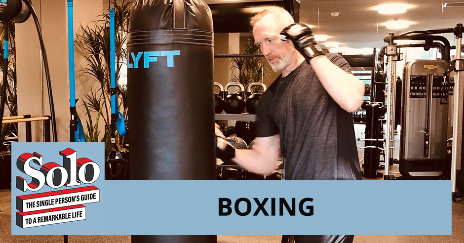 Solo 9 Kirsten Barry   Training For Boxing