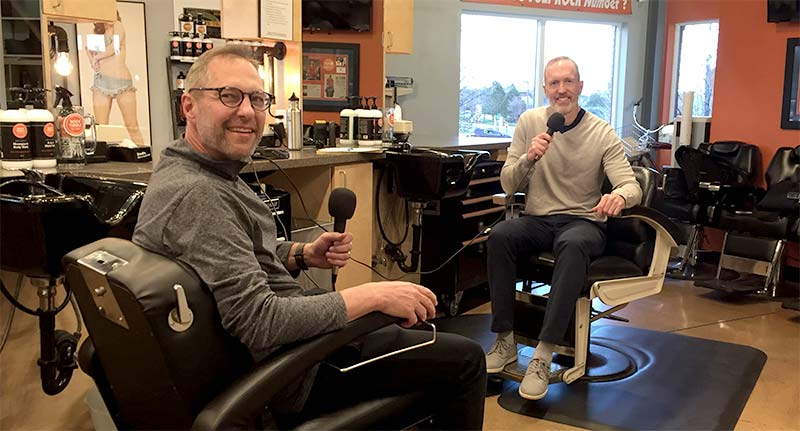 Peter McGraw Barber Shop Solo Podcast