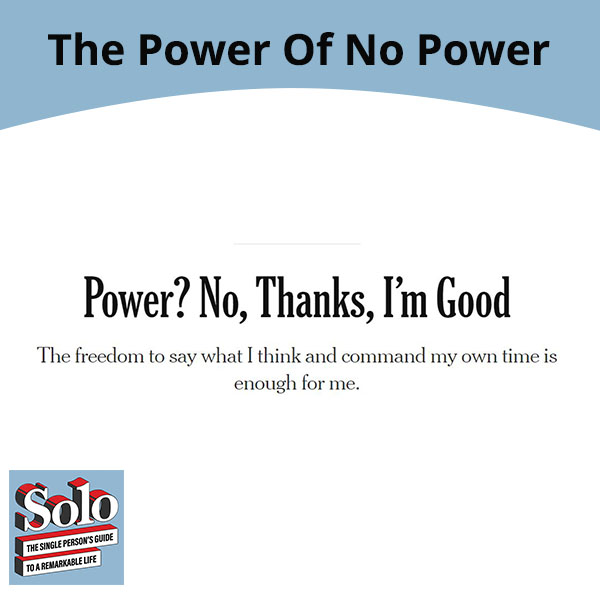 SOLO 86 | Working In Solitude